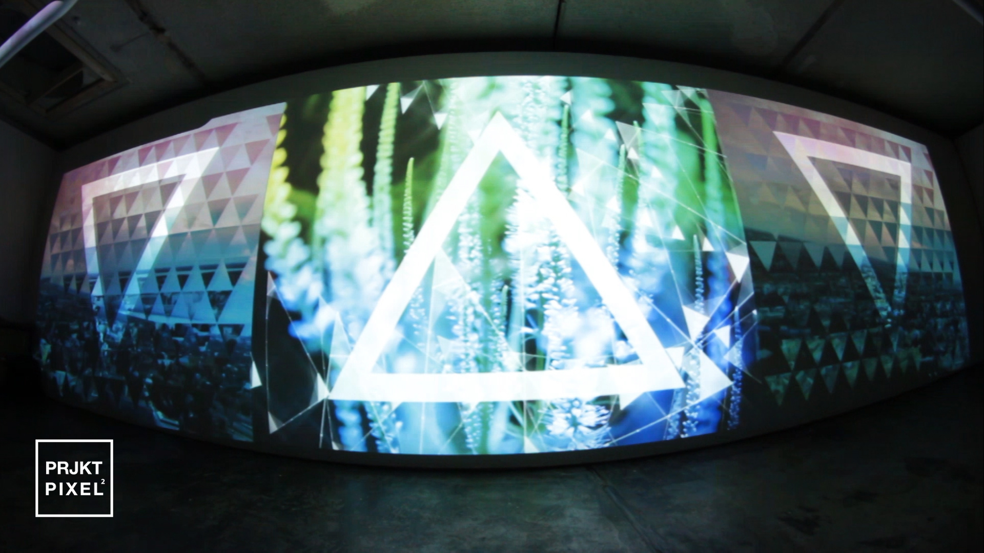 1 The Space Between Us – Three Channel Installation